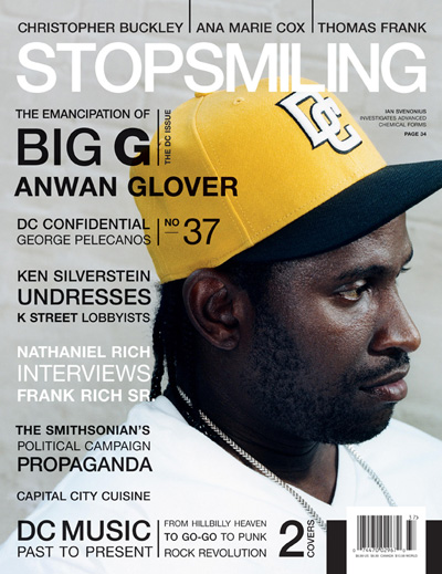 Stop Smiling Anwan Glover Feature
